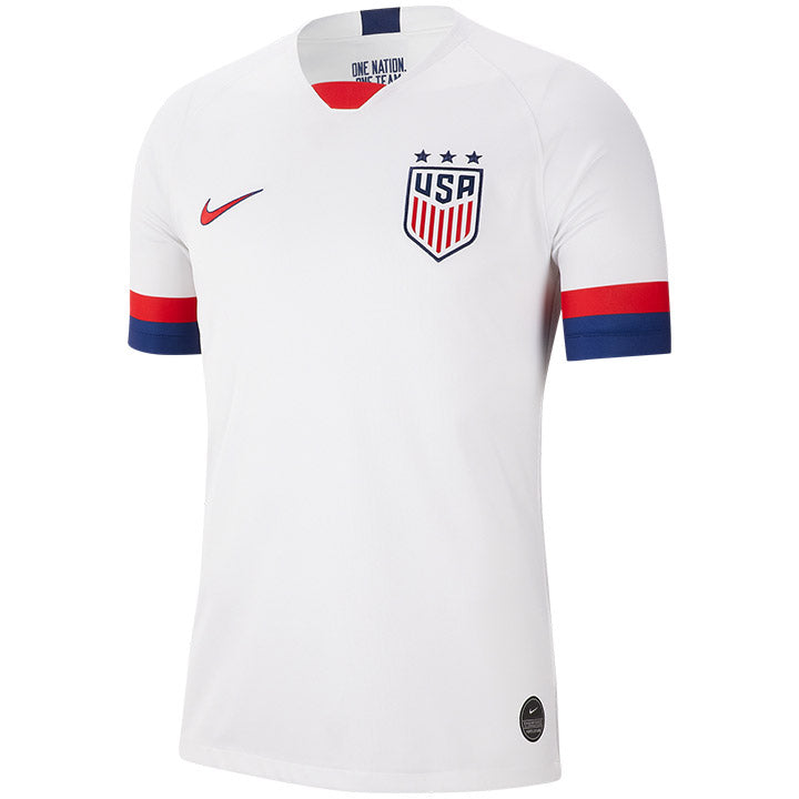 MEN'S NIKE USA BREATHE 3-STAR STADIUM HOME JERSEY - WHITE