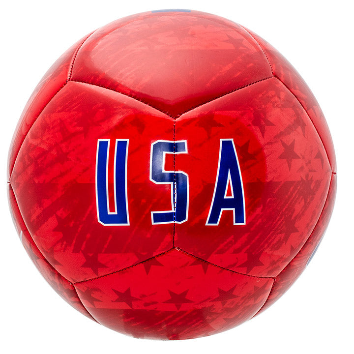 NIKE USA PITCH SOCCER BALL SIZE 5 - RED