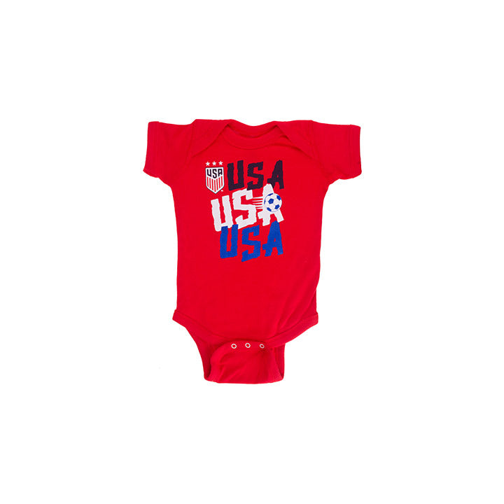 INFANT OUTERSTUFF USA CHANT CREEPER