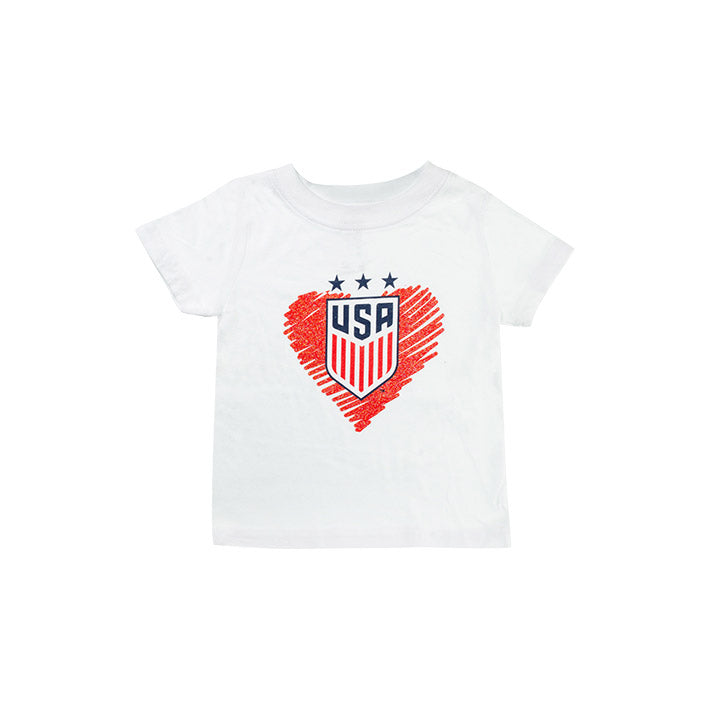 INFANT OUTERSTUFF ALL MY HEART TEE