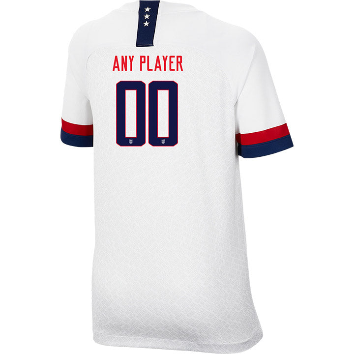 PLAYER YOUTH NIKE WNT USA BREATHE STADIUM WHITE HOME JERSEY