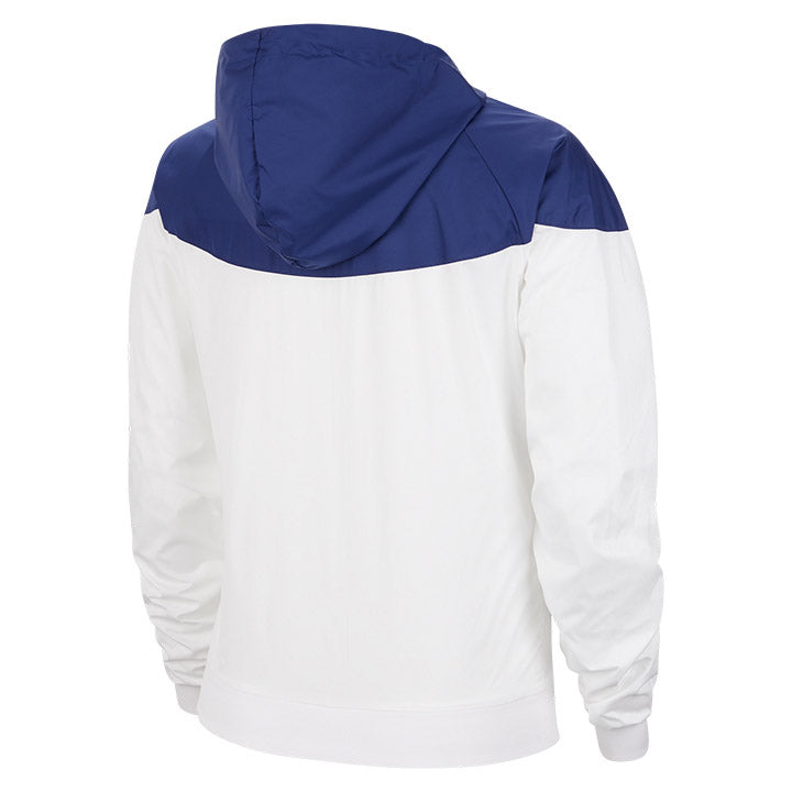 WOMEN'S NIKE USA 4-STAR WINDRUNNER JACKET - WHITE/BLUE
