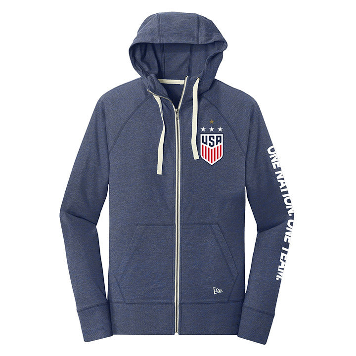 5TH & OCEAN WOMENS 4STAR TRIBLEND HOOD