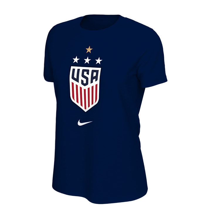 WOMEN'S NIKE WNT 4STAR CREST TEE