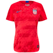 WOMEN'S NIKE USA 4-STAR BREATHE STADIUM MORGAN 13 AWAY JERSEY - RED
