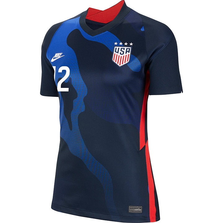 Women's Adrianna Franch Nike Away Navy Jersey