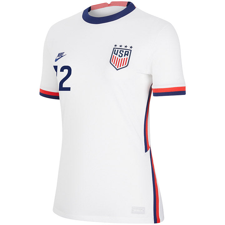 Women's Adrianna Franch Nike Home White Jersey