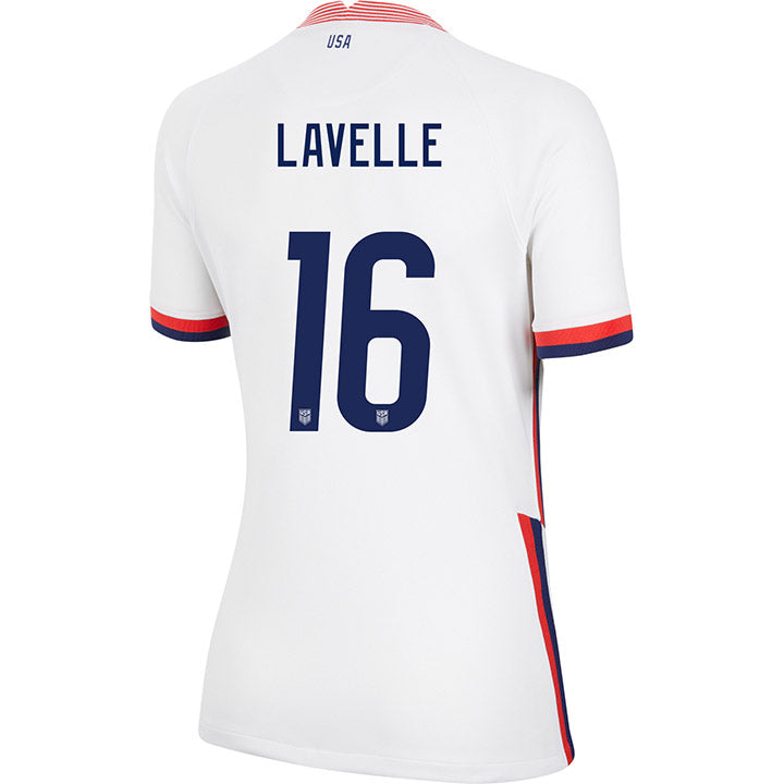 Women's Rose Lavelle Nike Home White Jersey