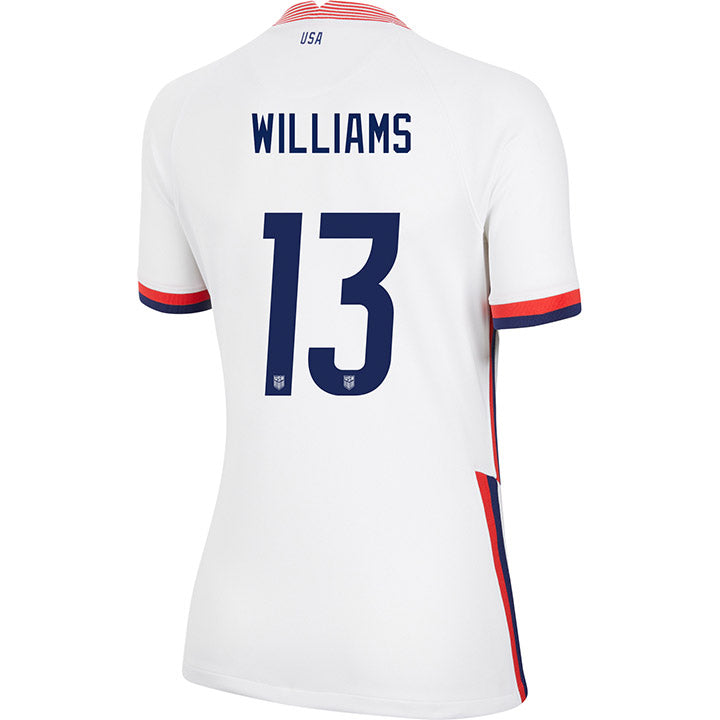 Women's Lynn Williams Nike Home White Jersey