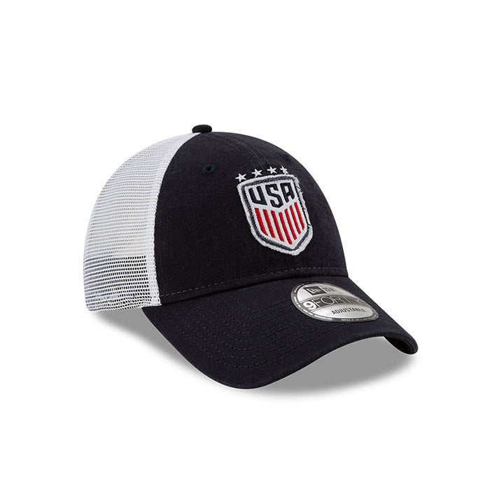 New Era WNT Navy Team Truckered Cap
