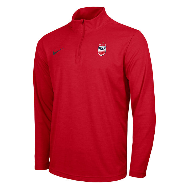 MEN'S NIKE WNT 4STAR INTENSTITY 1/4 ZIP TOP