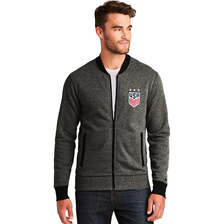 5TH & OCEAN MENS 4STAR FRENCH TERRY FULL ZIP