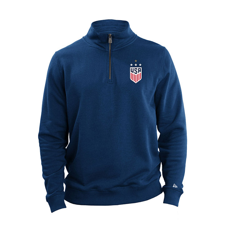5th & Ocean WNT Fleece 1/4 Zip Top
