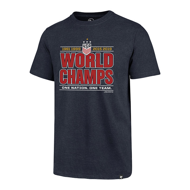 MEN'S '47 WNT 4-STAR WORLD CHAMPS CLUB T-SHIRT