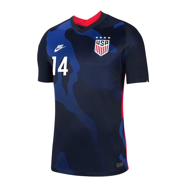 Youth Jessica McDonald Nike Away Navy Jersey