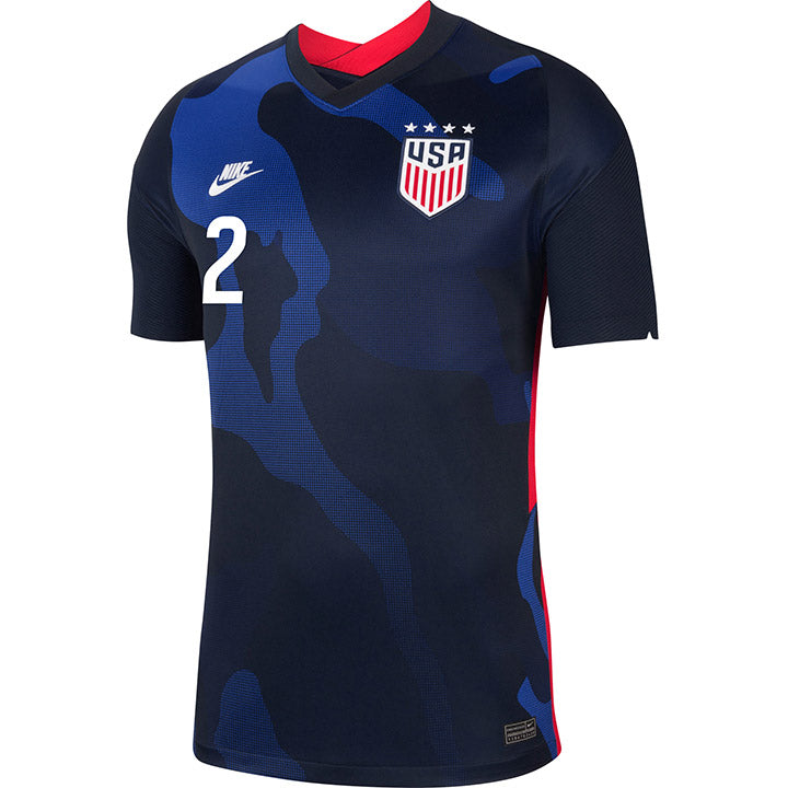 Men's Emily Sonnett Nike Away Navy Jersey