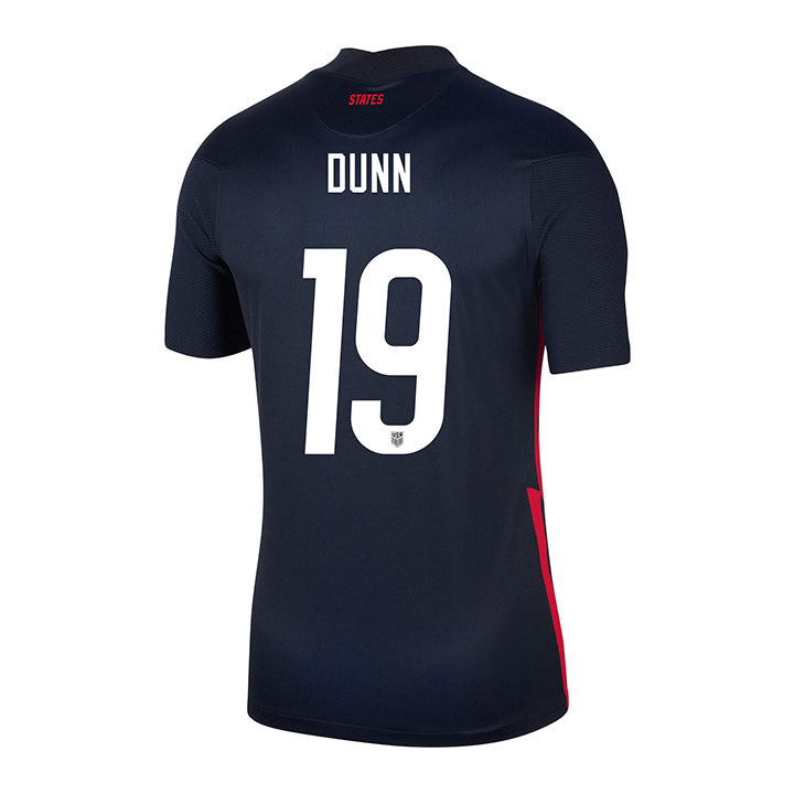 Youth Crystal Dunn Nike Away Navy Jersey
