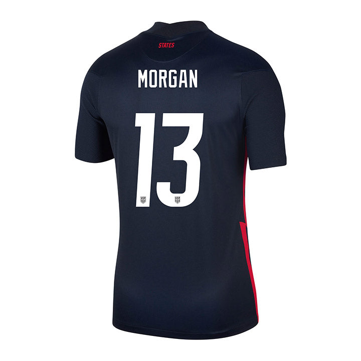 Youth Alex Morgan Nike Away Navy Jersey