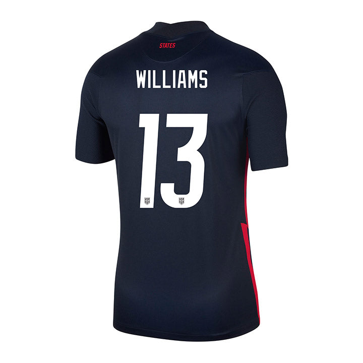 Youth Lynn Williams Nike Away Navy Jersey