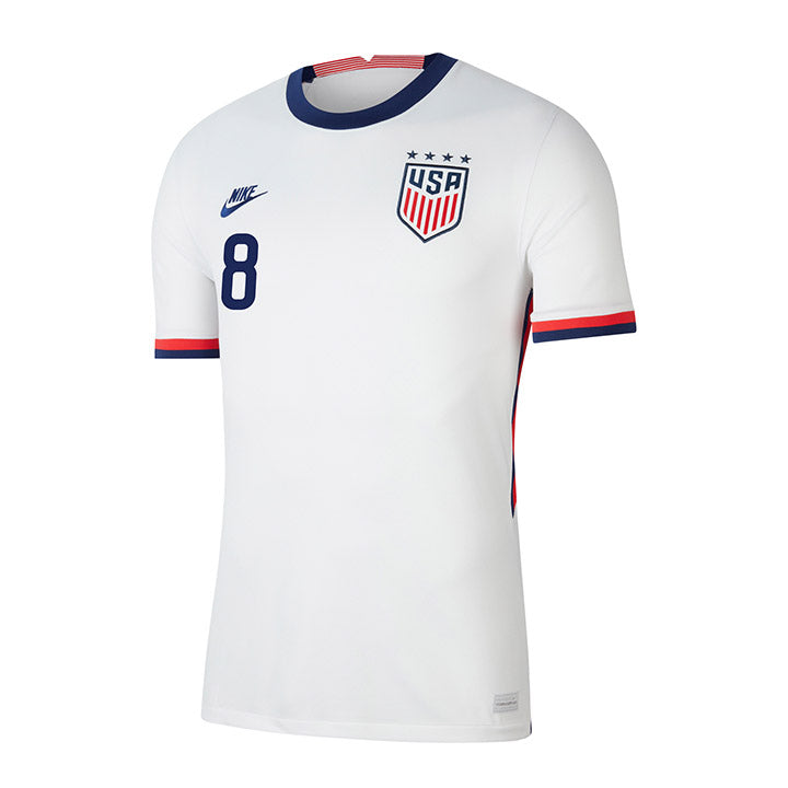 Youth Julie Ertz Nike Home White Jersey