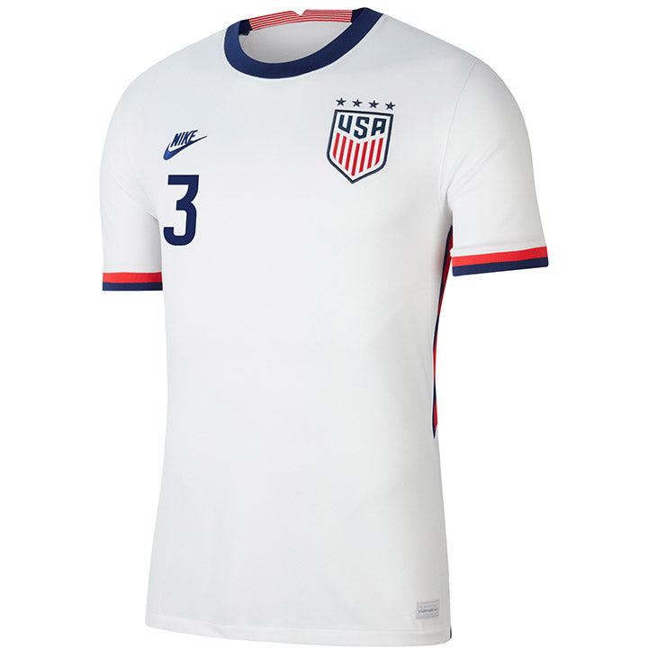 Men's Samantha Mewis Nike Home White Jersey