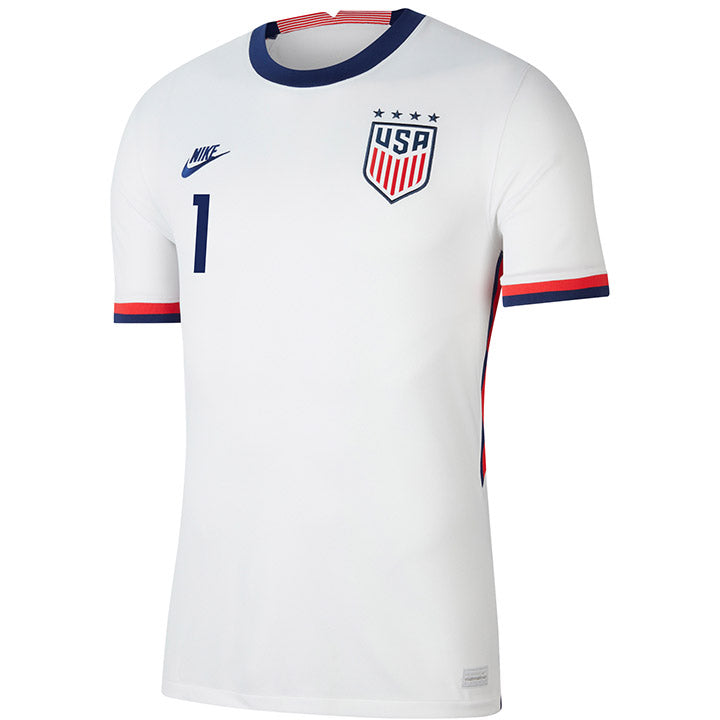 Men's Alyssa Naeher Nike Home White Jersey