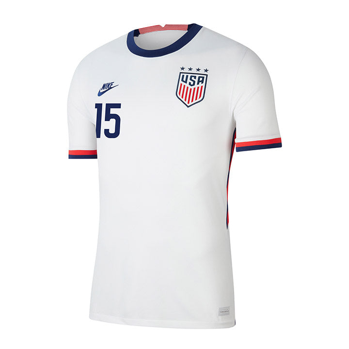 Youth Megan Rapinoe Nike Home White Jersey