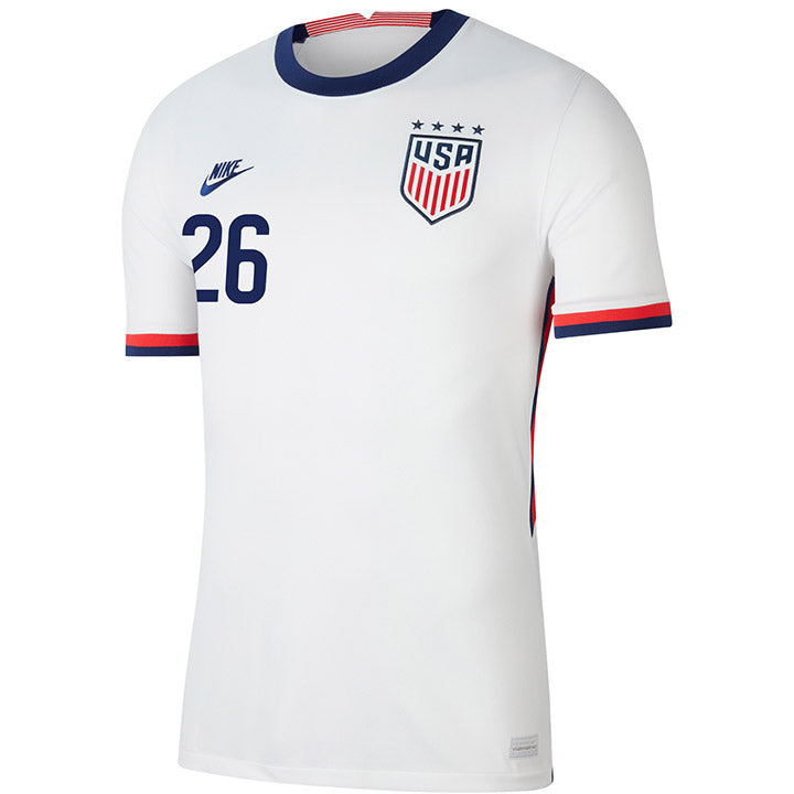 Men's Casey Short Nike Home White Jersey
