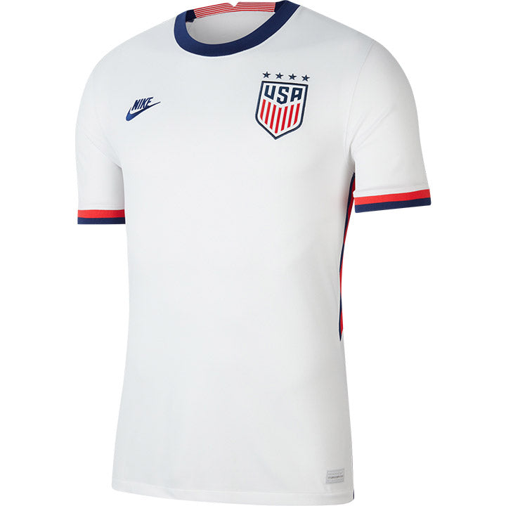 Men's Nike WNT Home White Jersey
