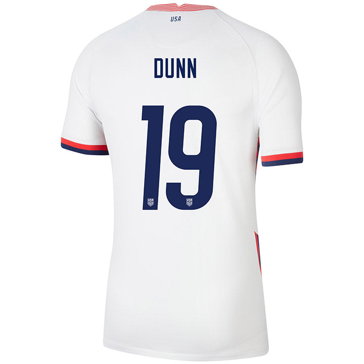 Men's Crystal Dunn Nike Home White Jersey