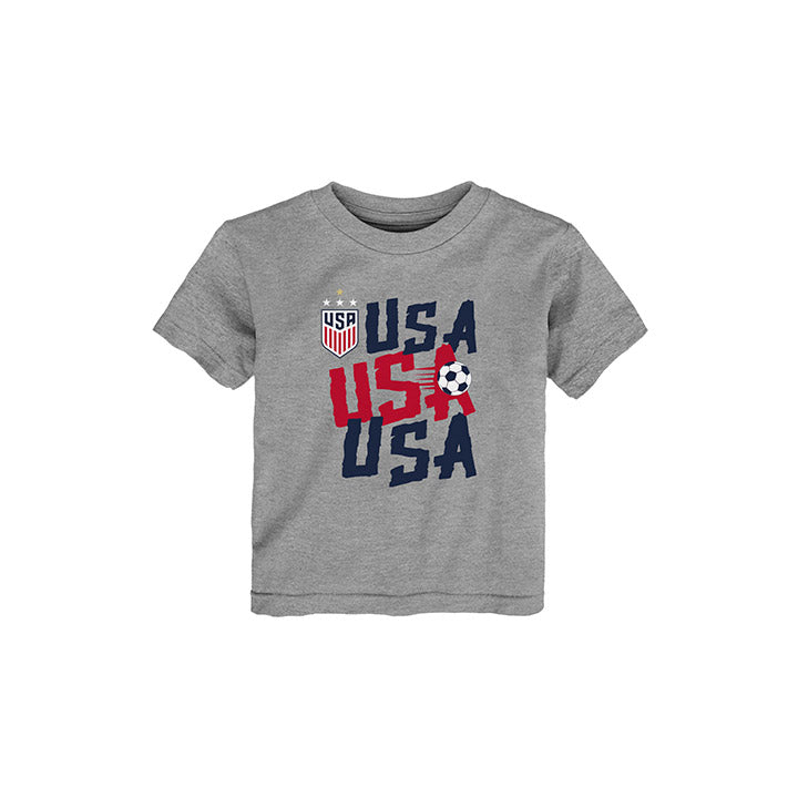 TODDLER OUTERSTUFF WNT USA CHAT TEE