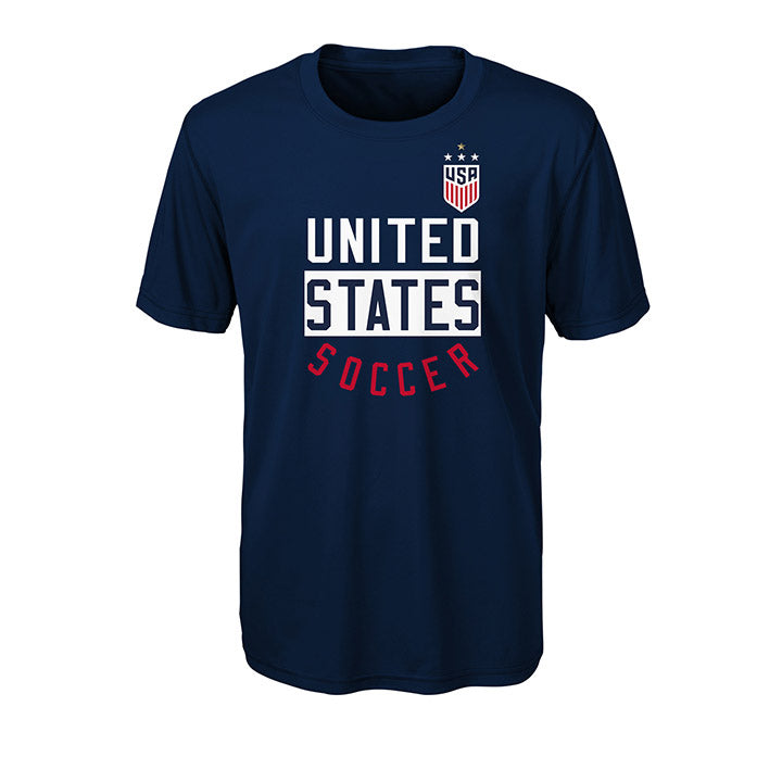 OUTERSTUFF YOUTH WNT 4STAR SOCCER BEND PERFORMANCE TEE