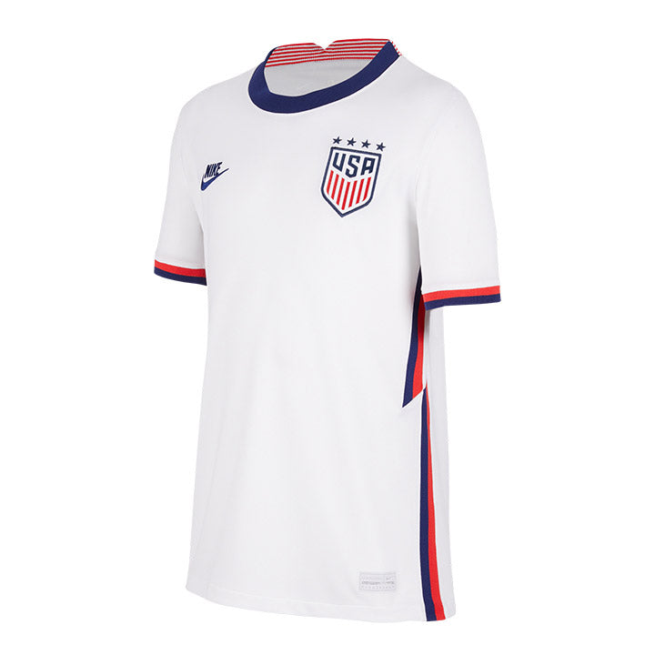 Youth Nike WNT Home White Jersey