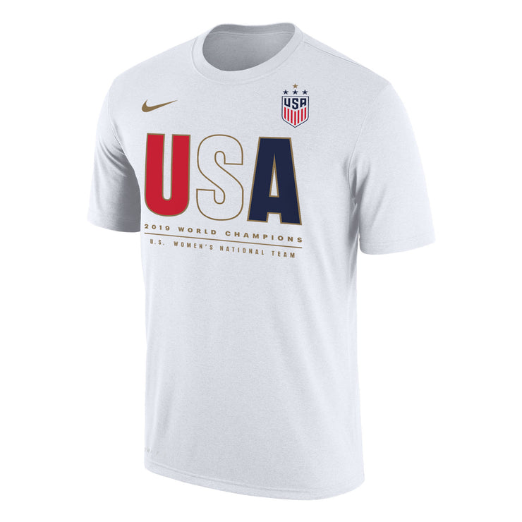 MEN'S NIKE WNT 4-STAR USA CHAMPION TEE