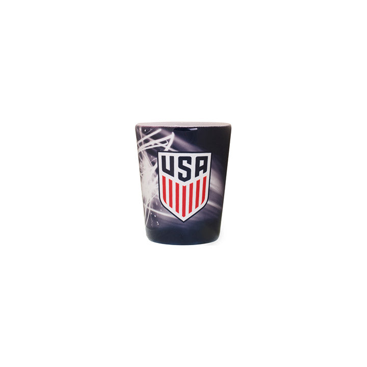 BOELTER BRANDS CREST SUBLIMATED VOLT SHOT GLASS