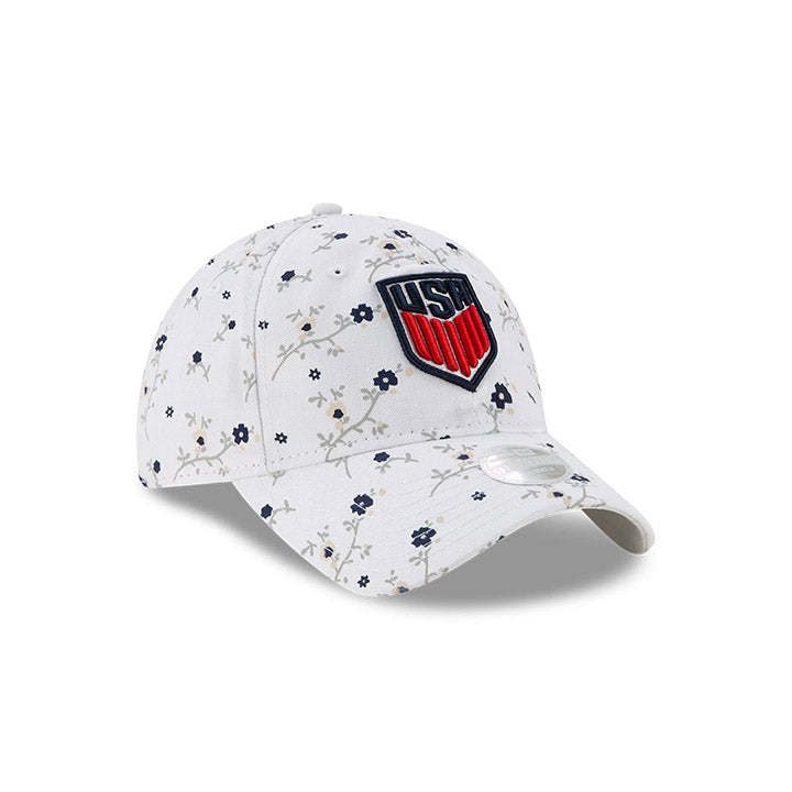 WOMENS NEW ERA USA CREST 9TWENTY BLOSSOM CAP