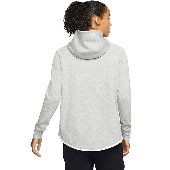 WOMENS USA NIKE TECH FLEECE CAPE JACKET - GRAY