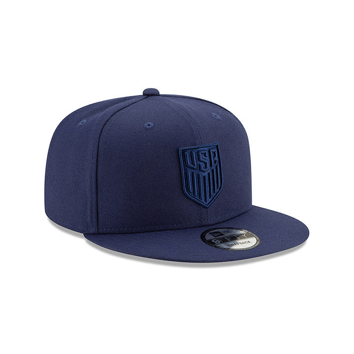 NEW ERA CREST USA 9FIFTY COLOR BASIC CAP - LIGHT NAVY
