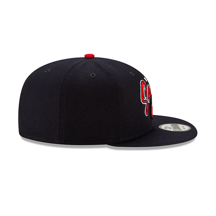NEW ERA USA 9FIFTY RETRO SCRIPT CAP - NAVY