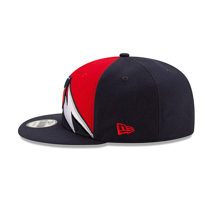 NEW ERA CREST USA 9FIFTY RETRO SPLIT CAP - RED/NAVY