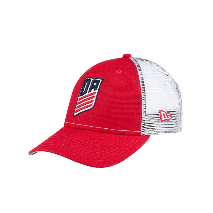 NEW ERA DA 9FORTY TRUCKER - RED/WHITE