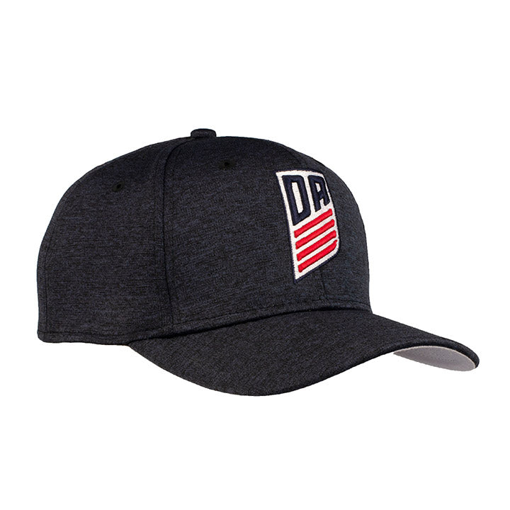 NEW ERA DA 9FIFTY STRETCH SNAP SHADOW TECH HEATHER - NAVY