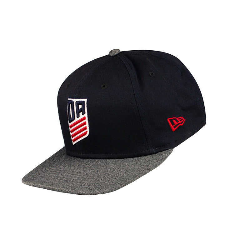 NEW ERA DA 9FIFTY STRETCH SNAP SHADOW TECH HEATHER - NAVY/GRAY