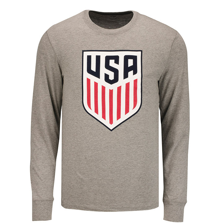 MEN'S 47 CREST CLUB L/S T - GRAY
