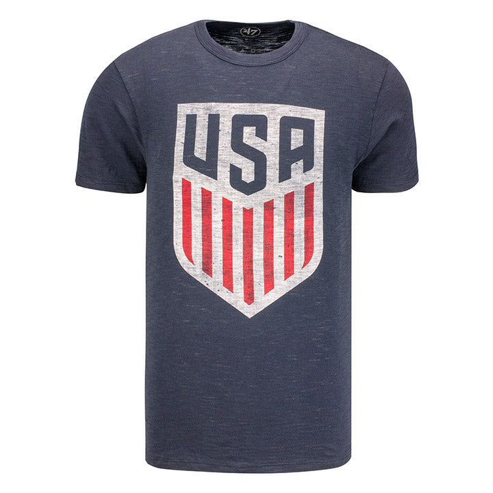 MEN'S 47 CREST SCRUM TEE - NAVY