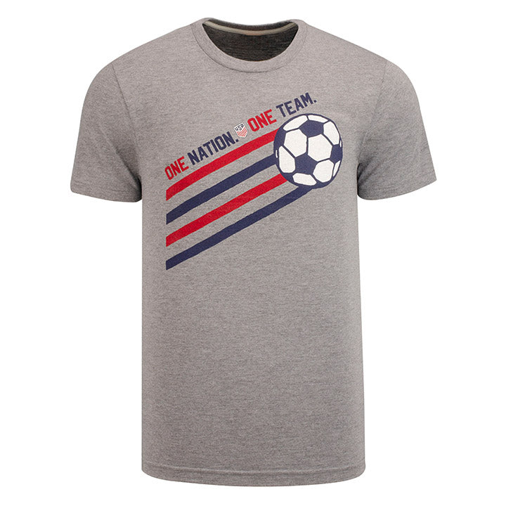 MEN'S HOMAGE SOCCER BALL TEE