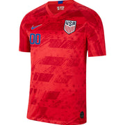 PERSONALIZED MEN'S NIKE USA BREATHE STADIUM RED AWAY JERSEY