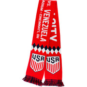 RUFFNECK USA v. VENEZUELA MATCH SCARF - RED