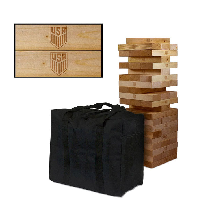 Victory Tailgate Wooden Tumble Tower Game
