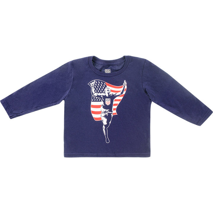 TODDLER OUTERSTUFF TO THE FIELD L/S TEE